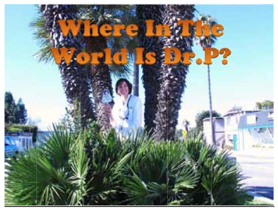 Where in the World is Dr. P? Manhattan Beach